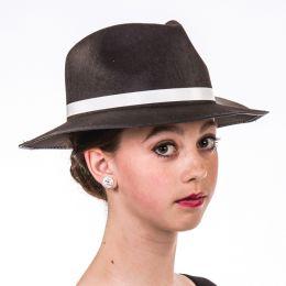 H-01 Black Gangster Hat
