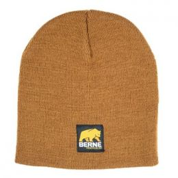 Berne Brown Duck Mens Knit Beanie H149