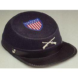 H-30 Navy Permafelt Union Cap
