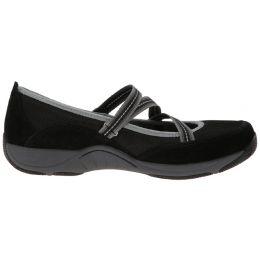 4504-020200 HAZEL Black Suede Leather Comfort Dansko Womens Shoes