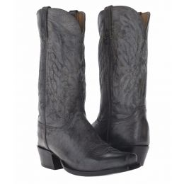HL1513.73 Stonewash Anthracite Goat Men's Lucchese Western Boots