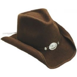 Hollywood Drive Crushable Shapeable Felt Stetson Western Cowboy Hats