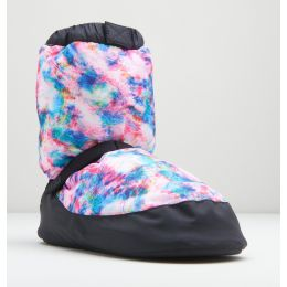 Bloch Blue Tie Dye Warm Up Booties IM009P