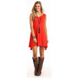 Panhandle Slim Orange Tank Top Knit Dress J0-5397