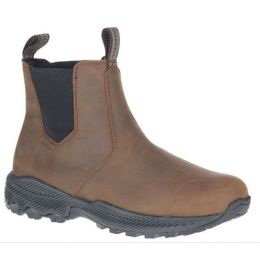 Merrell Men's Clay Forestbound Chelsea Waterproof Pull-On Boot J034759