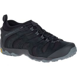 Merrell Chameleon 7 Stretch Black Pig Suede Mens Trail J12063