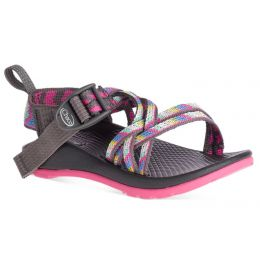 Chaco ZX/1 Classic Fletched Pink Kids Waterproof Sport Sandals J180032