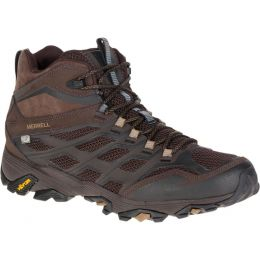 Merrell Moab FST Mid Waterproof Brown Mens Hiker J36981