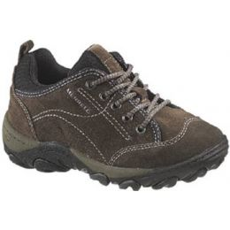 Merrell Bracken Sight Lace Brown Suede/Mesh Kids Casual J75265Y