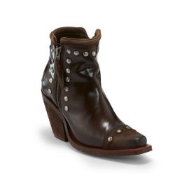 A Reba by Justin Exclusive Nashville Russett Womens Western Boots RML123