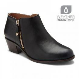 Vionic Black Jolene Womens Comfort Short Boots
