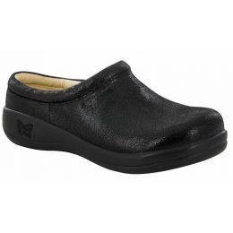 Alegria Black Kayla Licorice Soft Serve Womens Comfort Clogs KAY-921