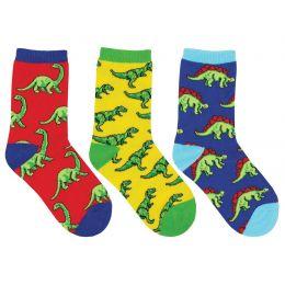Socksmiths Kids Dino-Mite! 3-Pack Socks KC7004