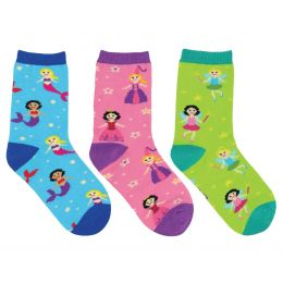 SockSmith Kids Happily Ever After 3 Pack Socks KC70584