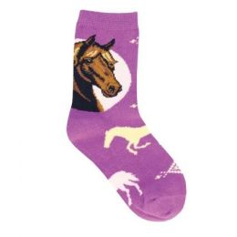 SockSmith Kids Prancing Pony Socks (Size 6-11) KC70943