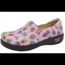 Alegria Sugar Skulls Pink Keli Women's Shoe KEL-7621
