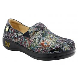 Alegria Multi/Black Pro Clog Womens Slip-On KEL-479
