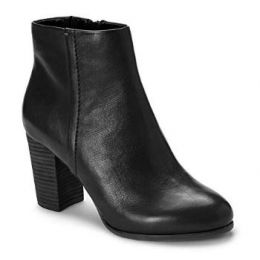 Vionic Women's Black Kennedy Boot with Concealed Orthotic Arch Support KENNEDY