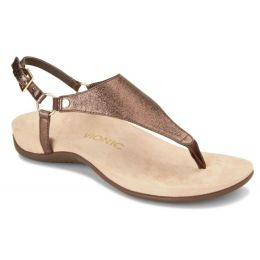 Vionic Bronze Kirra Backstrap Womens Sandals KIRRA-BRNZ