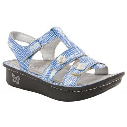 Alegria Kleo Wrapture Blues Adjustable Straps Slip Resistant Comfort Womens Sandals KLE-841