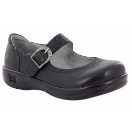 Alegria Kourtney Black Nappy Professional Womens Mary Jane Shoes KOU-601