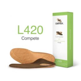 L420M Mens Lynco Sports Orthotic Insole With Posted Heel