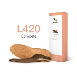L420W Womens Lynco Sports Orthotic Insole With Posted Heel