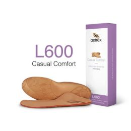L600W Womens Lynco Casual Orthotic Insole With Cupped Heel