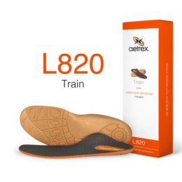 Aetrex Men's Train Flat/Low Arch Orthotic L820