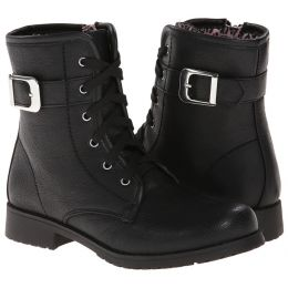 Rachel Lil Porter Black Kids Toddler Boot LIL-PORTER-BLK