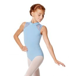 Lulli Carla Girls Mock Neck Tank Leotard LUF540C