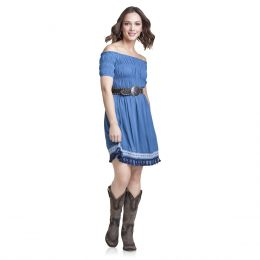 Wrangler Blue Womens Fashion Dress LWK512M