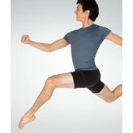 Body Wrappers Black Boys ProTech Dance Shorts B192