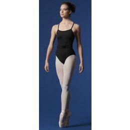 Mirella by Bloch Black Ladies Scoop Neck Velvet Waist  M2168LM