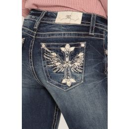 Miss Me Flight Of Fantasy Womens Skinny Jeans M3441S
