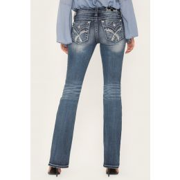 Miss Me Crossing Paths Bootcut Womens Jeans M3444B3