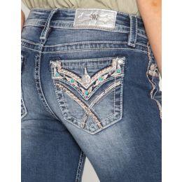 Miss Me Still Love Bootcut Jeans M3444B5
