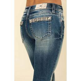 Miss Me Chloe Bootcut Jeans M3491BV