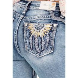 Miss Me Sunshine Dreams Womens BootCut Jeans M3730B