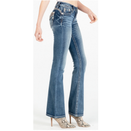 Miss Me Modern Goddess Bootcut Jeans M3746B