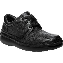Propet Village Walker Black Leather Mens Casual M4070-Black