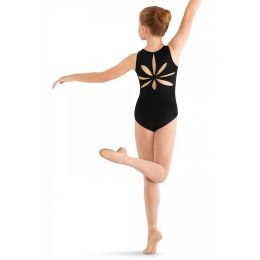 Bloch Mirella Flower Back Girls Tank Leotard M413C