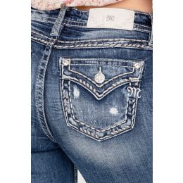 Miss Me Chained Love Boot Cut Womens Jeans M5014B338