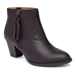 Vionic Black Madeline Womens Comfort Short Boots