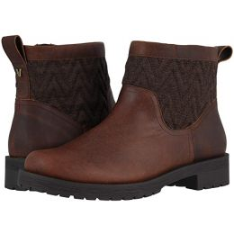 Vionic Chocolate Maple Womens Comfort Short Boots
