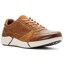 Propet Brown Landon Mens Casual Shoes MCV022L