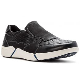 Propet Black Lane Mens Causal Shoes MCV024L