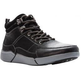 Propet Black Lance Mens Casual Shoes MCV032L