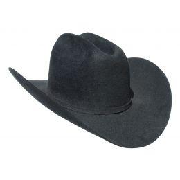 Los Tigres 15X Black Felt Western Hat MF1565-BLK