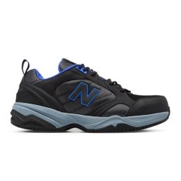 New Balance MID627 Steel Toe Blue/Black Suede Mens Work MID627BB
